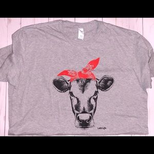 Cow Bandana Shirt